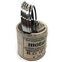 Кольца мопед Карпаты хром 1 ремонт  d=38.25 Motus (Польша) 1 компл.