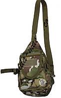Рюкзак тактический патрульный, Однолямочный рюкзак V-10л, Рюкзак на одной лямке