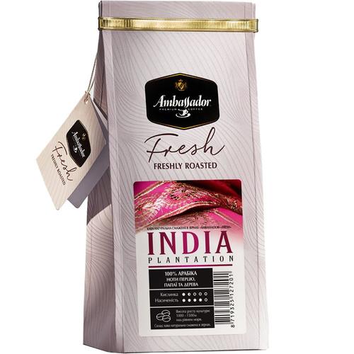 Кофе Ambassador Fresh India Plantation в зернах 200 г