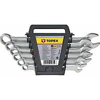 Набор инструментов Topex ключей комбинированных 8-17 мм, 6 шт. (35D373)