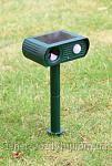 Отпугиватель кошек, собак, грызунов Garden Protector на солнечной батарее