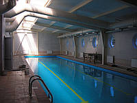 Приточная вентиляция в бассейне. Киевская область