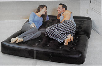 Надувной диван-кровать Bestway 75056 Double 5 in 1 couch, фото 3
