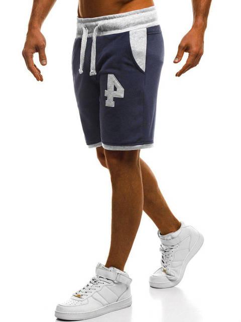 Мужские шорты Mechanich синего цвета, фото 2