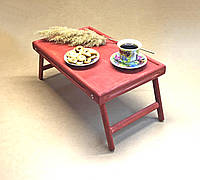Столик-поднос для завтрака Даллас Делюкс коралл