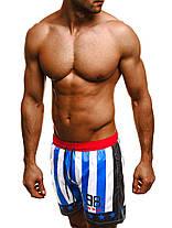 Мужские купальные шорты Madmext синие, фото 3