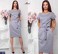 Платье T-8827 (42-46) — купить Платья оптом и в розницу в одессе 7км