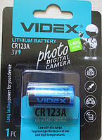 Батарейка Videx CR123A 3V