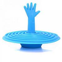 Пробка для ванны или раковины: рука в воронке!