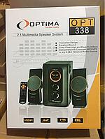 Колонки  соббуфер 2.1 (с USB) OPTIMA 338