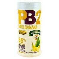 PB2 Арахисовое масло с бананом сухое (порошок) обезжиренное PB2