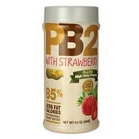 PB2 Арахисовое масло с клубникой сухое (порошок) обезжиренное
