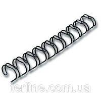 Пружина металлическая диаметром 6.4 мм 100 шт. уп. для переплета биндером