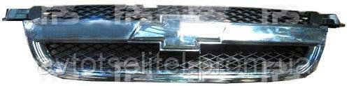 Решетка для Chevrolet Aveo T250 2006-12 SDN