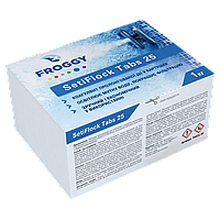 Коагулирующее средство в картушах SetiFlock Tabs 25, 1кг. Химия для бассейна FROGGY™