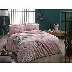 Постельное белье Тас ранфорс - Tulin розовый полуторное