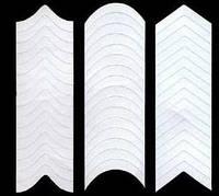 Полоски для маникюра разной формы