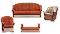Комплекты мягкой мебели, диваны, кресла