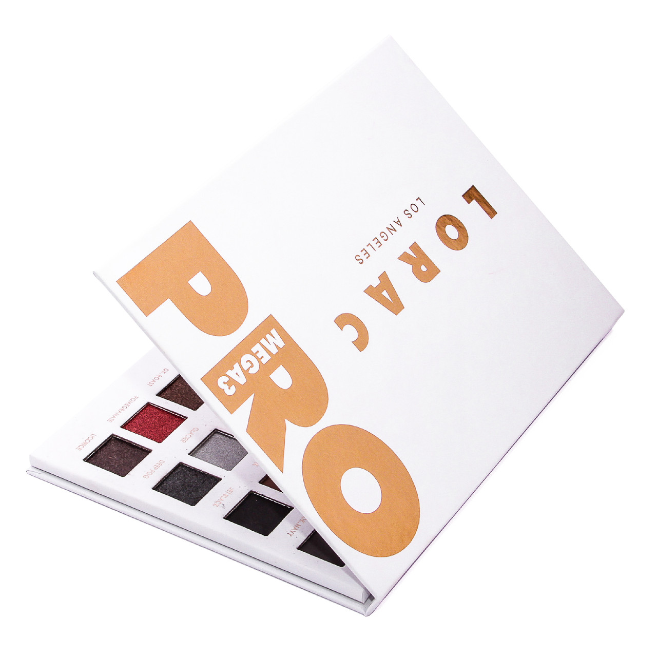 Палетка теней для век Lorac Mega PRO 3 Palette Shimmer Matte Eye Shadow Palette
