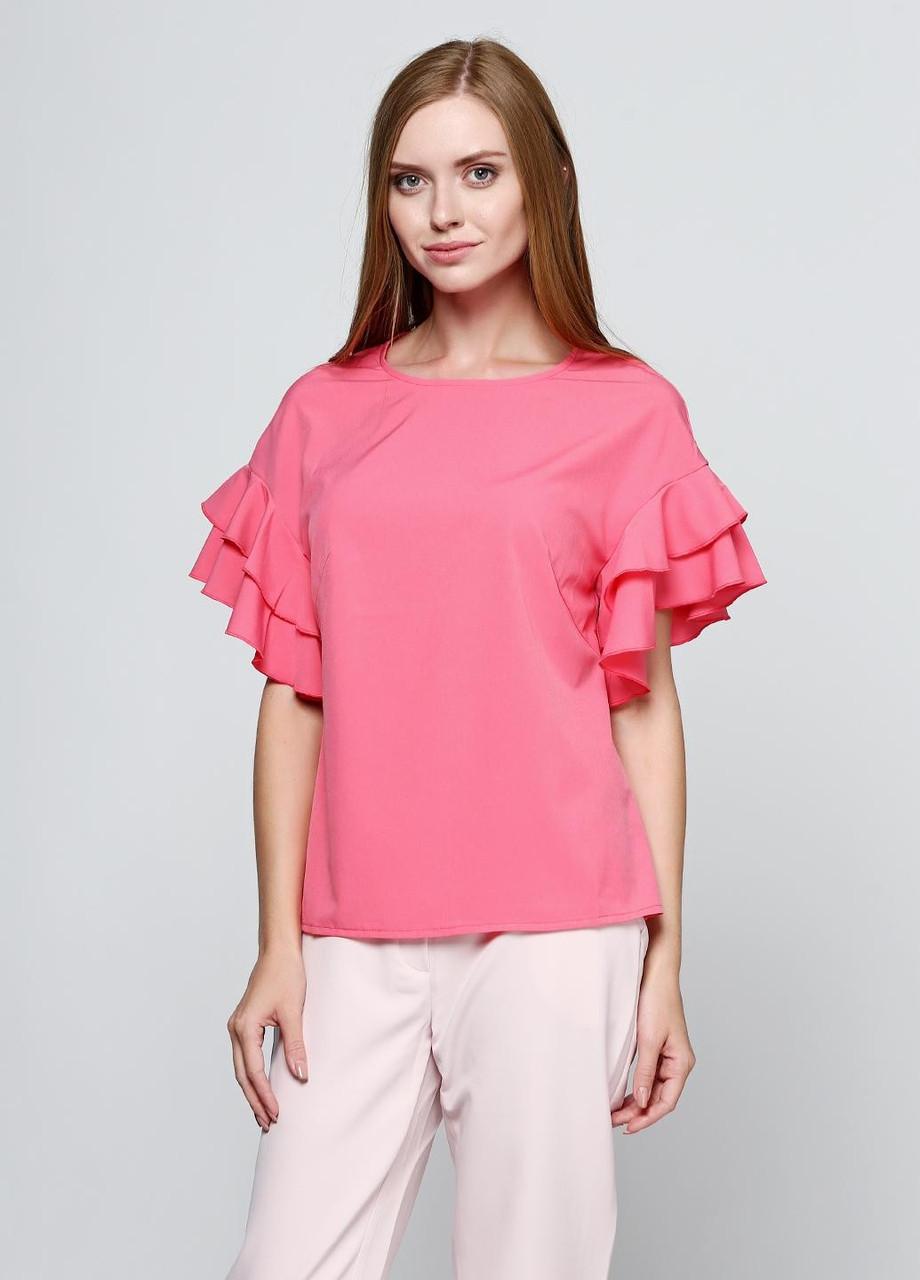 c6f05583199b Блуза модная с коротким рукавом - Bigl.ua