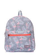 Рюкзак женский Рoolparty с розовыми фламинго