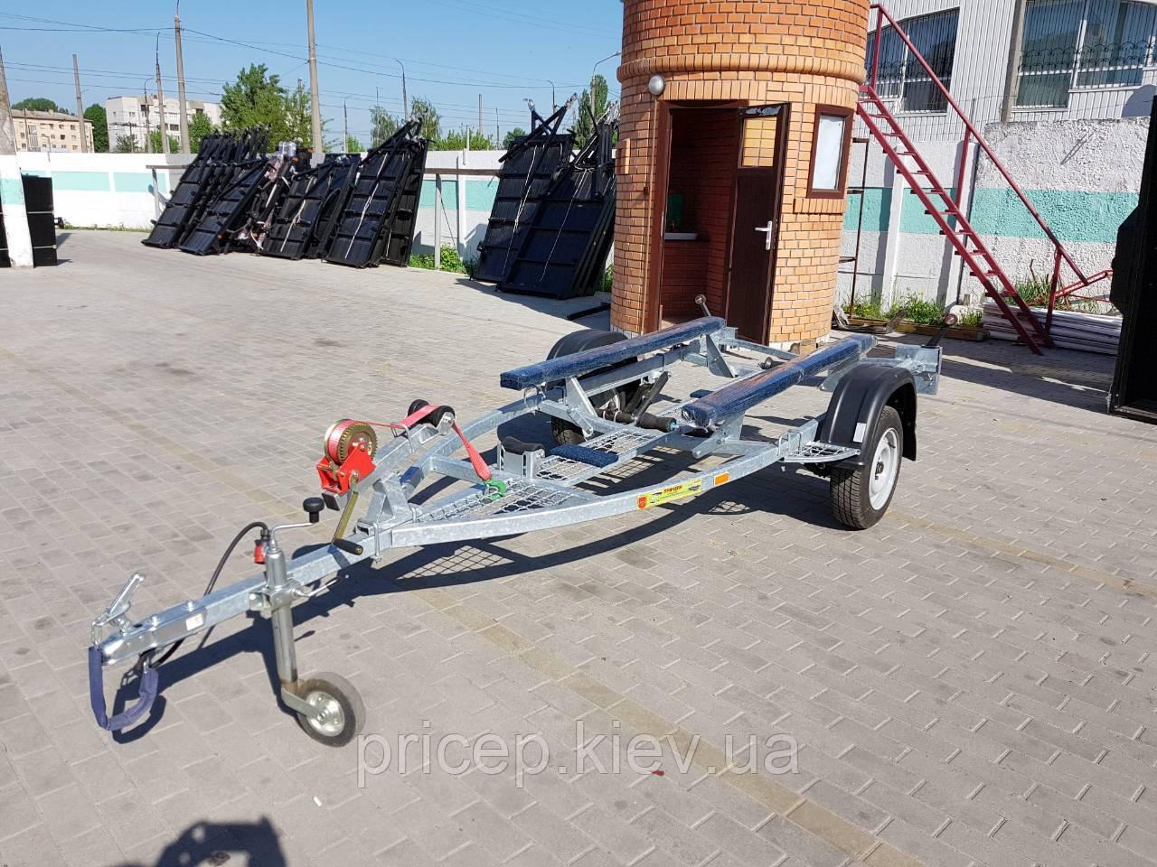 Купити лафет для водного мотоцикла до 3,6 м. Рама - 4,2 м.