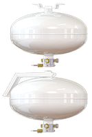 Модуль порошкового пожаротушения серии «Бранд-15» Е-С-68