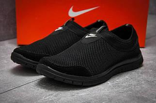 Мокасины мужские сетка Nike.Без шнурков,мягкие , фото 3