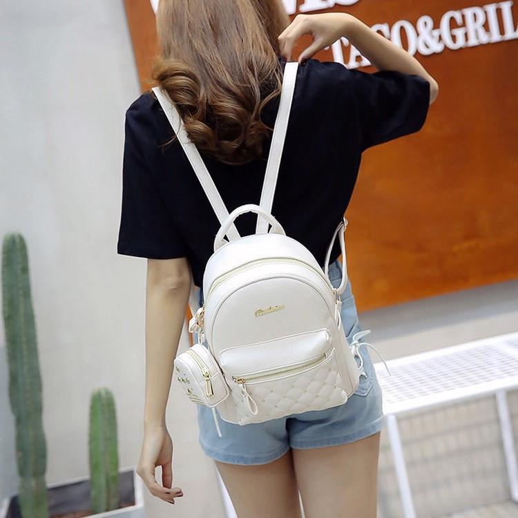 Женский рюкзак городской, Bailimen с кошельком 1020 - фото 5