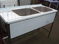 Стол нержавеющий с ванной моечной