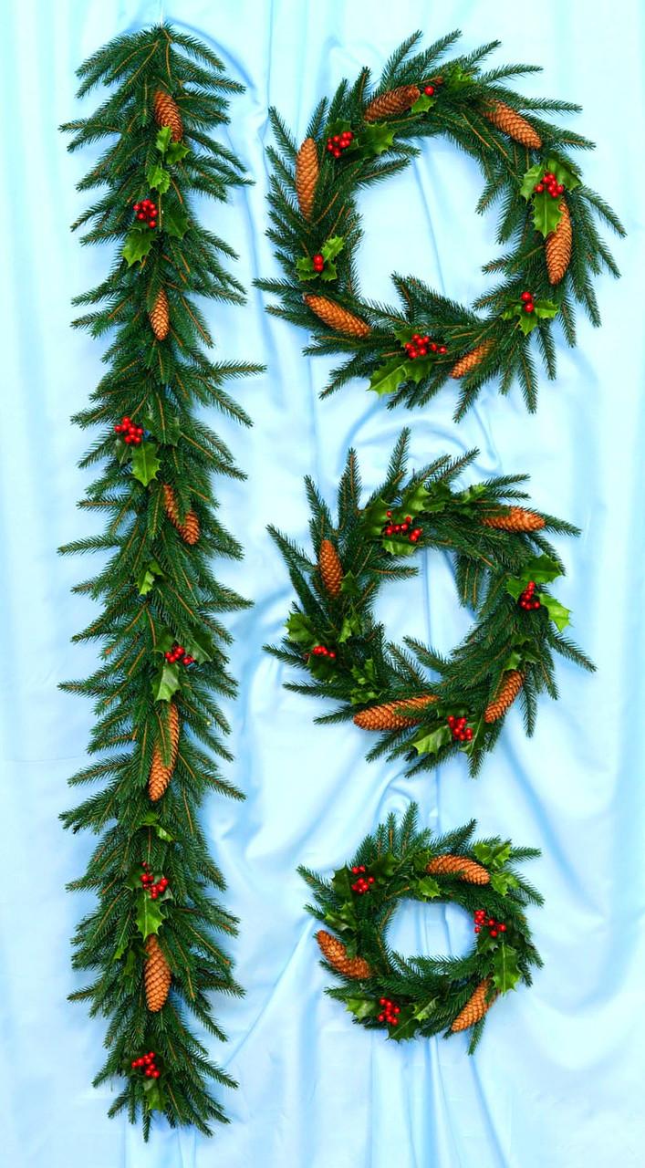 Різдвяний Вінок Фантазія