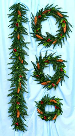 Різдвяний Вінок Фантазія, фото 2