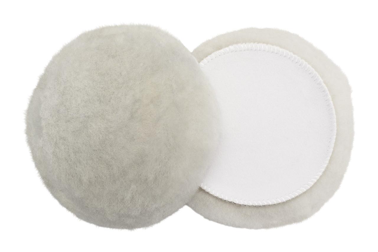"Полировальный круг лама - Flexipads Merino Lambs Wool Bonnet 180х32 мм. (6"") белый (40247)"