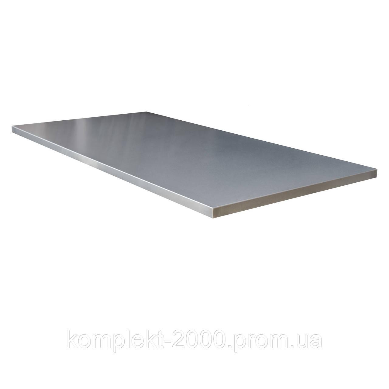 Столешница из нержавеющей стали для кухни