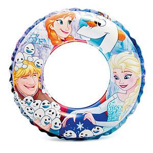 Надувной круг для плавания Холодное сердце Intex 51 см