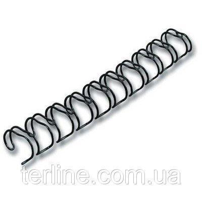 Пружина металлическая диаметром 16.0 мм 40 шт. уп.  для переплета биндером