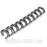 Пружина металлическая диаметром 16.0 мм 40 шт. уп.  для переплета биндером, фото 1