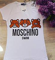 Футболка Moschino. Размеры: L, M