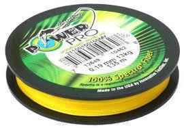 Шнур Power Pro Original желтый (0,10мм 135м)
