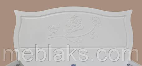 Кровать деревянная «Роза» Неман, фото 2