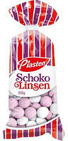 Шоколадно-мятное драже Piasten Schoko Linsen Германия 250г