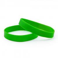 Браслет силиконовый зеленый
