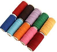 Нитка-резинка (10 катушек) цветные
