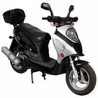 Скутер SP150S-16(4т., 150см3,  задний багажник, 2 задних амортизатора)