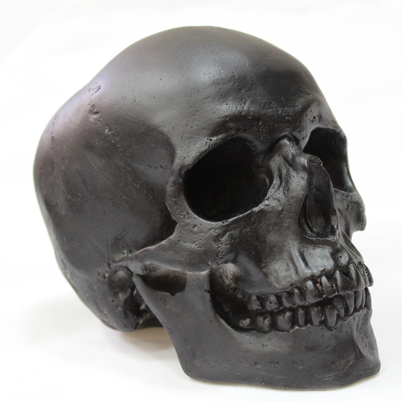чёрный череп картинки