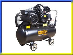 Воздушный компрессор с ременным приводом 50 л