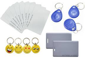 Ключи и карты (самые ходовые модели)