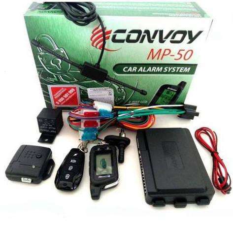 Автосигнализация(двухсторонняя) Convoy MP-50 LCD, фото 2