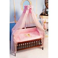 """Спальный набор в детскую кроватку (60*120см) """"Уточка"""" вышивка"""