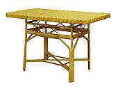 СЖ-7 стол из лозы ЧФЛИ 1200х720х750 мм